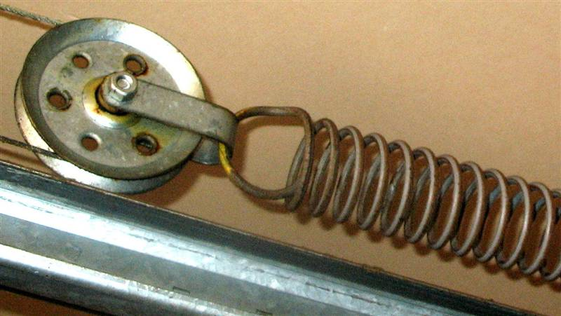 Garage door extension spring Spokane