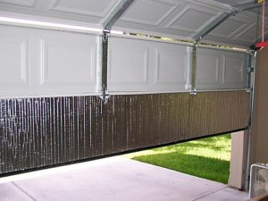 Insulated garage door vs uninsulated Spokane