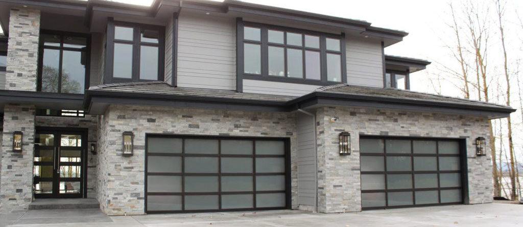 Spokane new garage door install