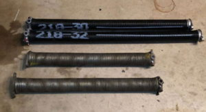 Spokane broken garage door spring replacement